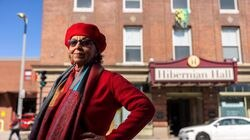 Mary McCullough is the new playwright-in-residence at Hibernian Hall in Roxbury.