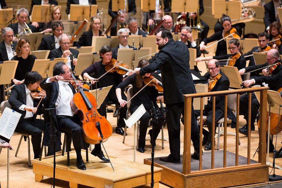 """Andris Nelsons leads Yo-Yo Ma and the BSO in Strauss's """"Don Quixote."""""""
