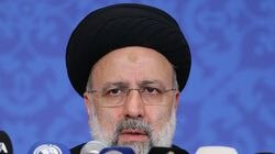 Iran's President-elect Ebrahim Raisi addressed his first press conference in Tehran, on June 21, 2021.