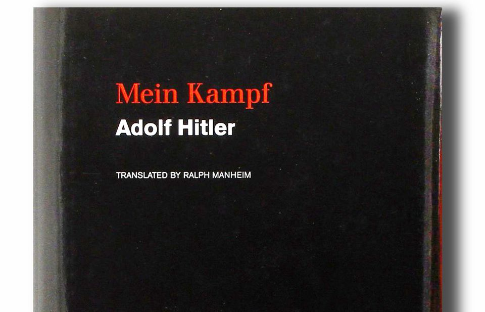 """Adolf Hitler's """"Mein Kampf"""" is published by Boston-based Houghton Mifflin Harcourt."""