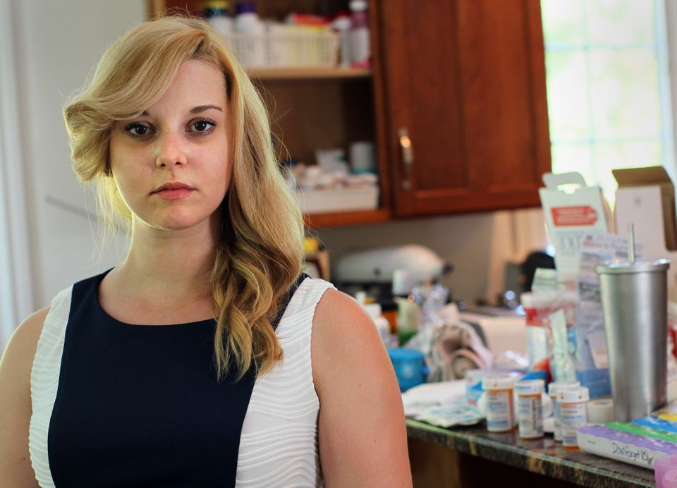 Caitlin O'Brien pays hundreds of dollars a month for her medications.