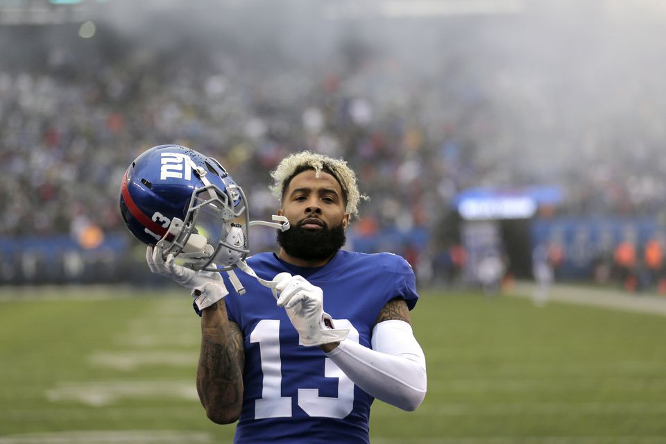 The Giants' Odell Beckham Jr. also has trade rumors swirling around him.