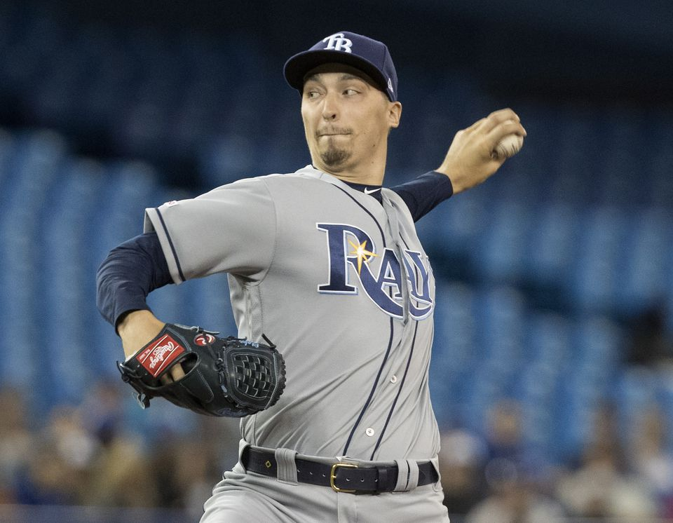 Rays ace Blake Snell is on the injured list due to a strange injury he suffered in his bathroom.