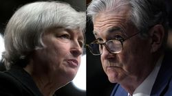 Janet Yellen and Jerome Powell.