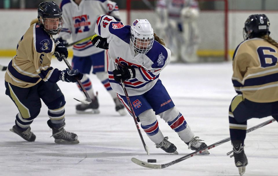 Methuen/Tewksbury senior forward Julia Masotta leads the state with 39 goals.
