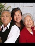 Photograph of Bay Thi Huynh (82) , Joseph Vo Van Ngo (85), and Kim Chi Ngo Nguyen (50)