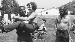 """This image released by Netflix shows a scene from the documentary """"Crip Camp: A Disability Revolution."""""""