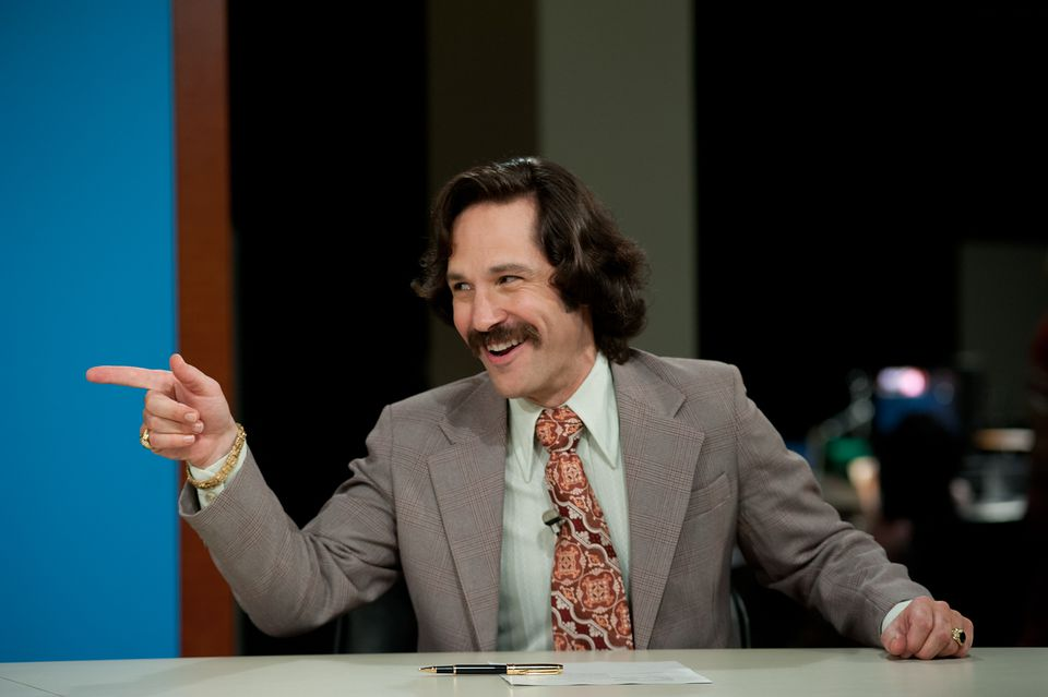 "Paul Rudd is Brian Fantana in ""Anchorman 2: The Legend Continues."""
