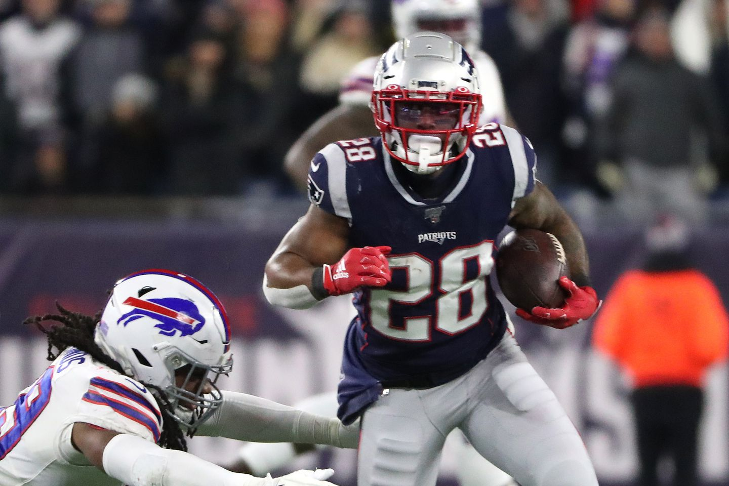 Patriots Place Running Back Sony Michel On Injured Reserve Activate Damien Harris Ahead Of Chiefs Game The Boston Globe