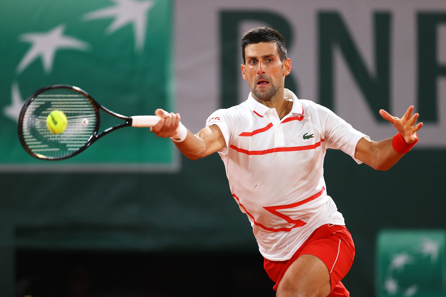 Little Drama This Time For Novak Djokovic In First Round Victory At Roland Garros The Boston Globe