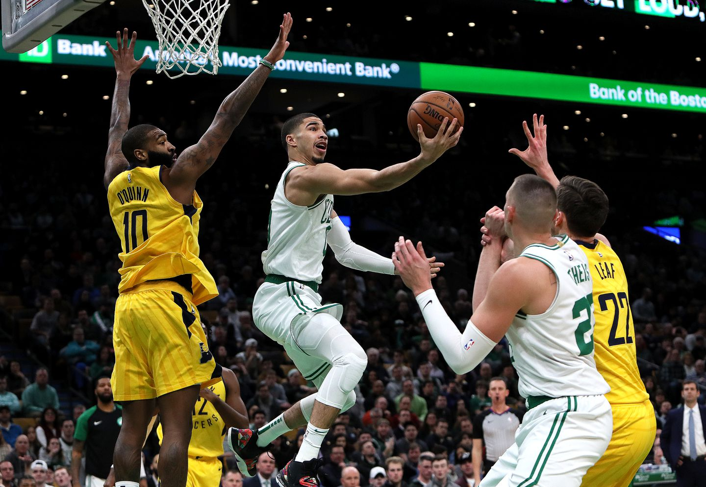 a1ff63810aa3 Jayson Tatum s team in the Rising Stars game will be coached by Celtic  teammate Kyrie Irving