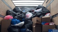 The Rotary Club of Newton's clothing drive collected a total of 4,433 pounds of textiles, according to organizers of the June 5 event.
