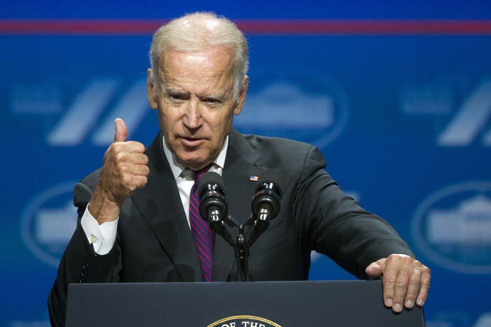 Vice President Joe Biden addressed the White House Summit on the United State of Women last week in Washington.