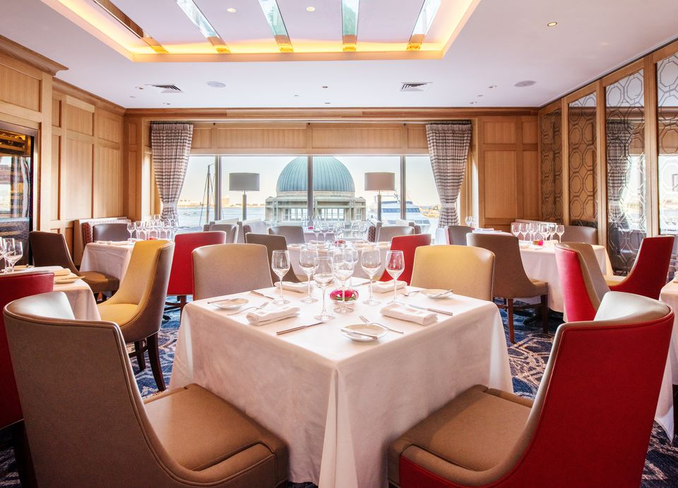 Meritage restaurant at the Boston Harbor Hotel has a new sleek, contemporary look, expanded bar area, and brand new wine-centric menus.
