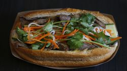 Pho Viet's Banh Mi with beef.
