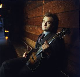 """It's fun to be able to have a comrade in stretching,"" says mandolinist Chris Thile (pictured)  of his teaming with jazz pianist Brad Mehldau on a tour that will surely include some intricate improvisations."