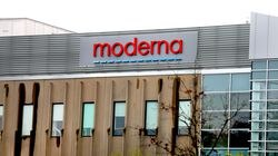 Moderna's production and lab facility in Norwood.