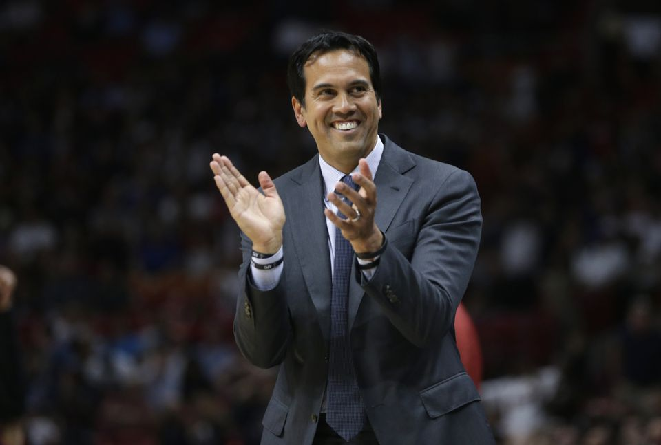 Erik Spoelstra and the Heat went 10-6 in March and are poised to finish with a winning record.