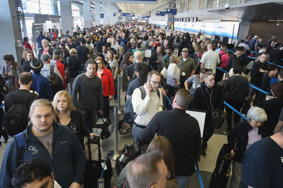 Chicago's O'Hare International Airport was paralyzed by long security lines this past spring.