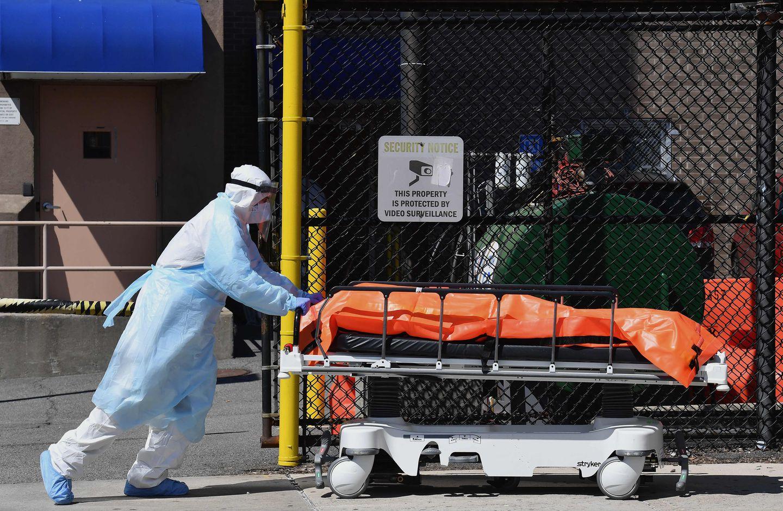 Body Bags In Virus Crisis