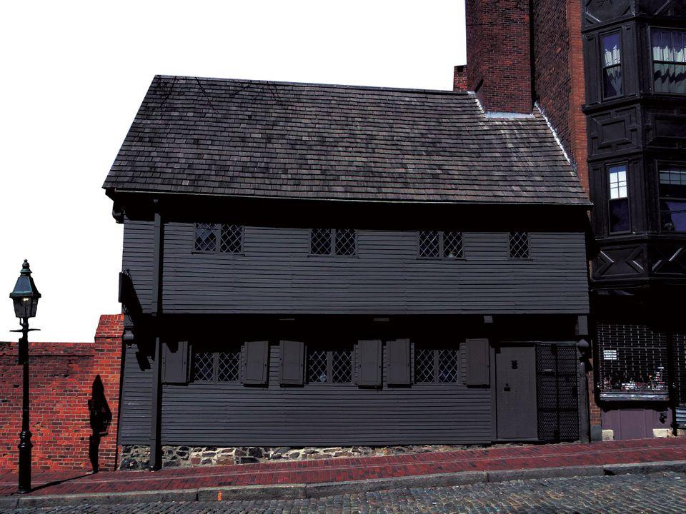 The Paul Revere house.
