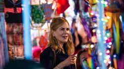 Actress Nicole Kidman filmed a scene in a market in Hong Kong on Aug. 23, 2021, from the Amazon Prime Video series titled Expats, a show based on a 2016 book by Janice Y. K. Lee about the gilded lives of three American women in the city.