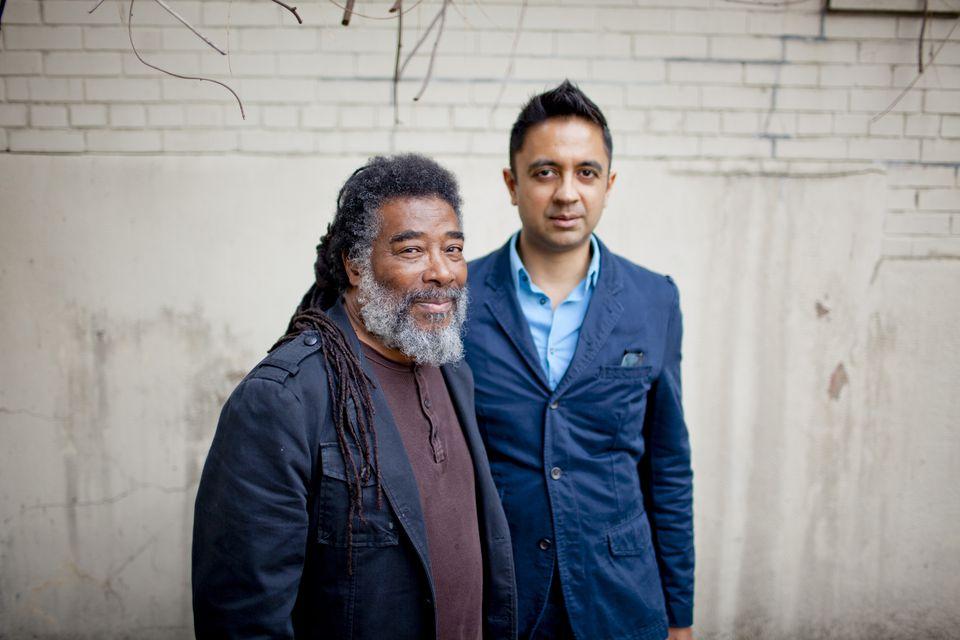 Wadada Leo Smith (left) and Vijay Iyer.