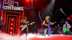 """New England's Shot of Poison, a Poison cover band, is competing in E!'s """"Clash of the Cover Bands,"""" which debuts on Oct. 13."""