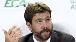 Italy's Andrea Agnelli is chairman of Juventus, one of 12 European soccer clubs threatening to break away from the Champions League.