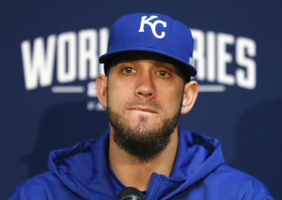 James Shields is one of the best remaining options for the Red Sox to fill out their pitching staff.