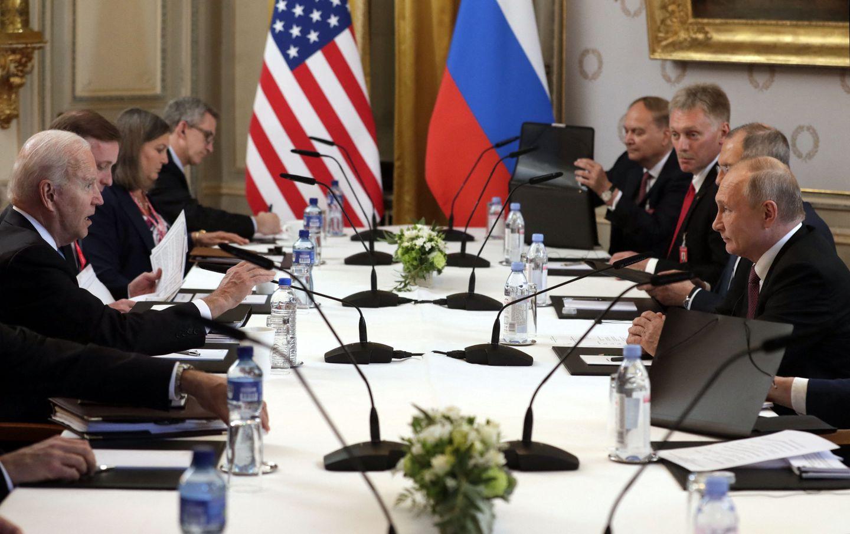 Biden, Putin meet face-to-face for long-anticipated summit - The Boston  Globe