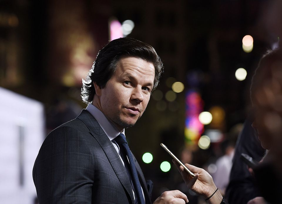 "Mark Wahlberg at the premiere of ""The Gambler"" in November."