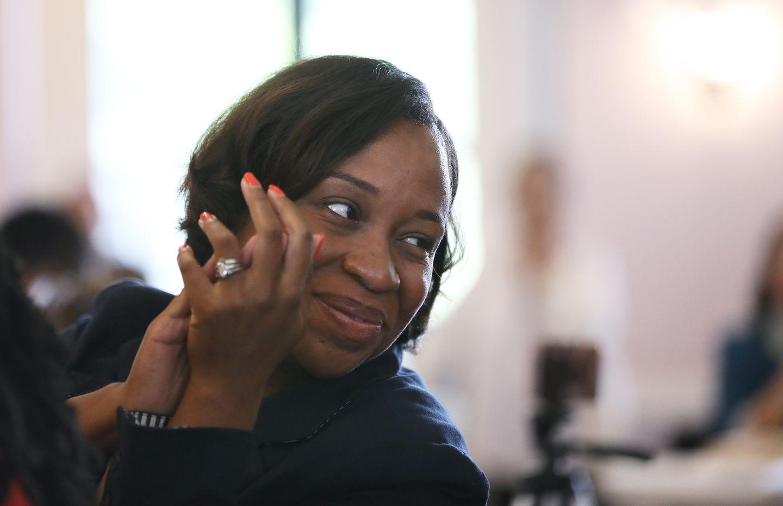 Boston City Councilor Andrea Campbell