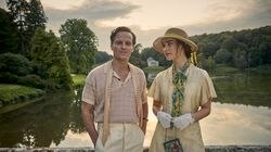 """Andrew Scott and Lily James in """"The Pursuit of Love,"""" an Amazon adaptation of Nancy Mitford's 1945 novel."""