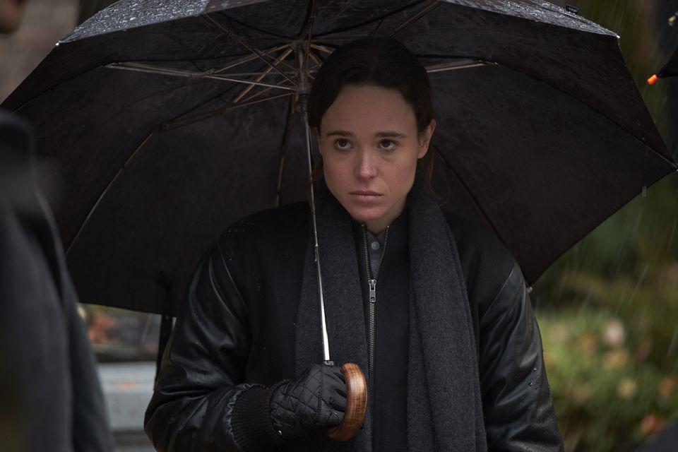 "Ellen Page stars in the Netflix series ""The Umbrella Academy."""