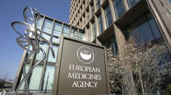 Exterior view of the European Medicines Agency, EMA, in Amsterdam's business district, Netherlands, Tuesday, April 20, 2021.