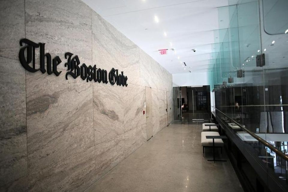 The offices of the Boston Globe at 53 State Street in downtown Boston.