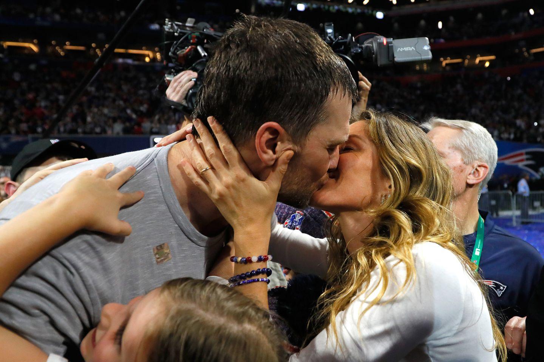 Tom Brady and Gisele Bundchen celebrate Valentine's Day with