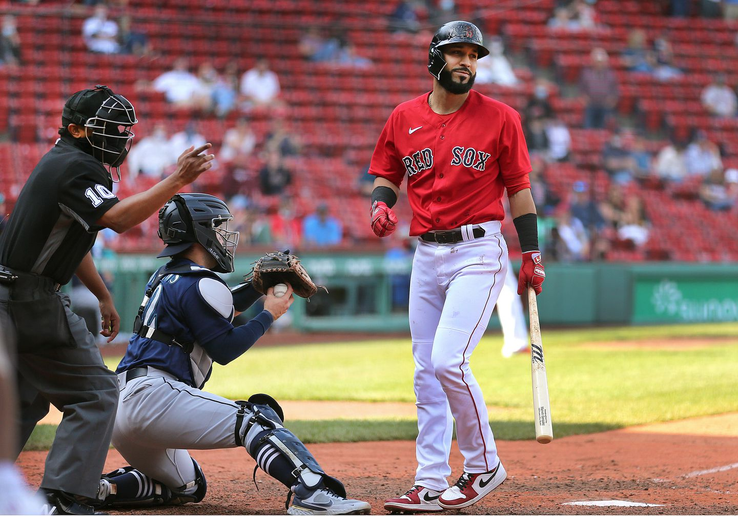 Marwin Gonzalez was released on August 16 with a batting average of .202.
