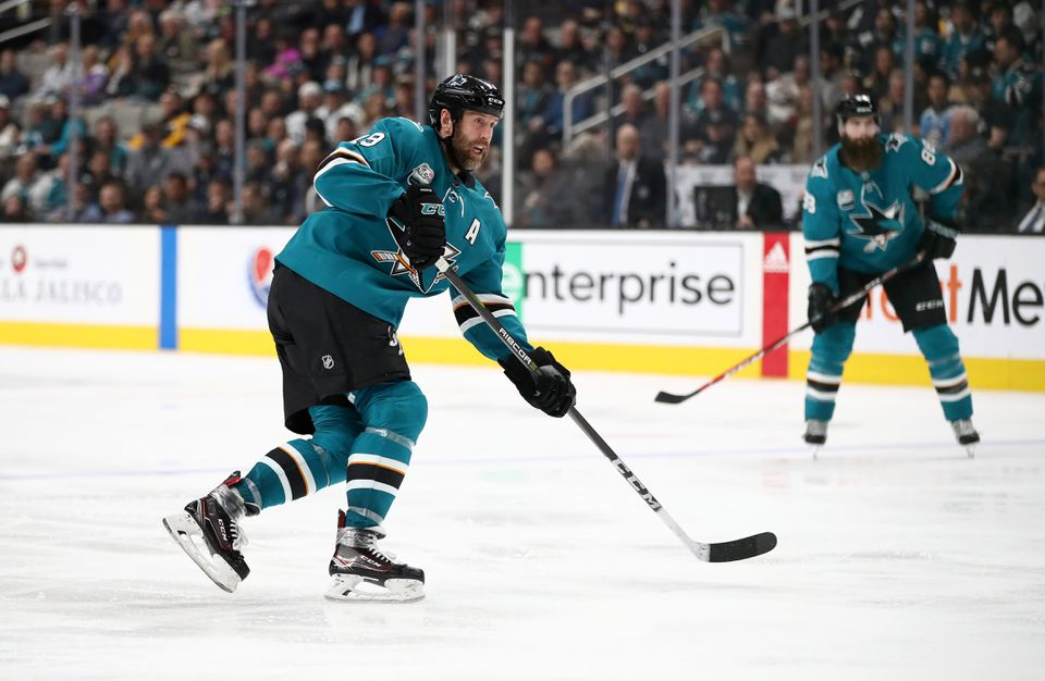 The Sharks' Joe Thornton, in his 21st NHL season, is moving up the Top 10 in all-time assists.