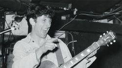 Jonathan Richman in 1984, performing at Jonathan Swift's in Harvard Square.