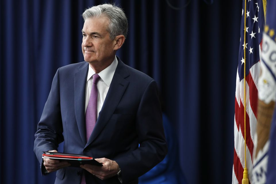 Federal Reserve chairman Jerome Powell talked to reporters Wednesday after his announcement.