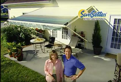 innovative design 8dcd6 d5a2e How SunSetter awnings created the greatest TV commercial ...