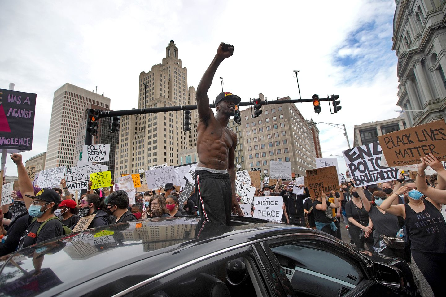 Peaceful Demonstrations In Boston And Providence Remember Breonna Taylor Demand Racial Justice The Boston Globe