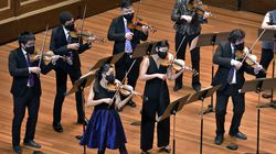 A Far Cry in concert during their season-opening return to live performances Friday at Jordan Hall.