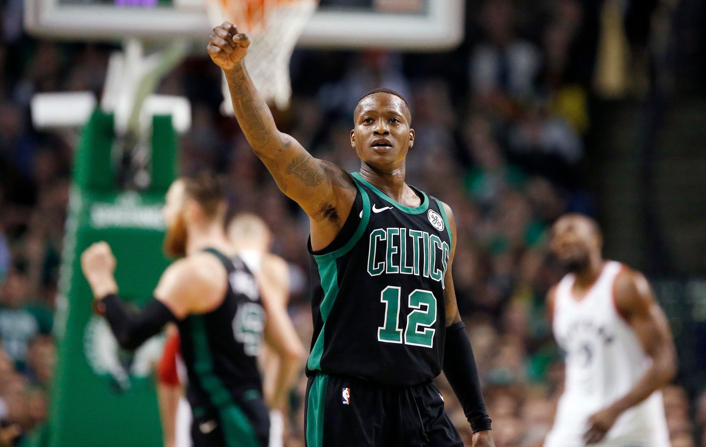 39ab98e8751 Terry Rozier will take on the lead role at point guard with Kyrie Irving out  for