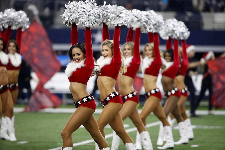 nfl cheerleader salary