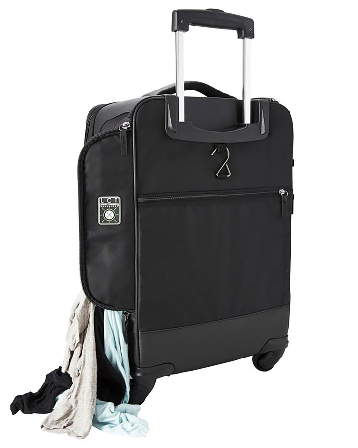 9e136e37f179 The Genius Pack G3 22-inch Carry On Spinner has tons of compartments and  nifty