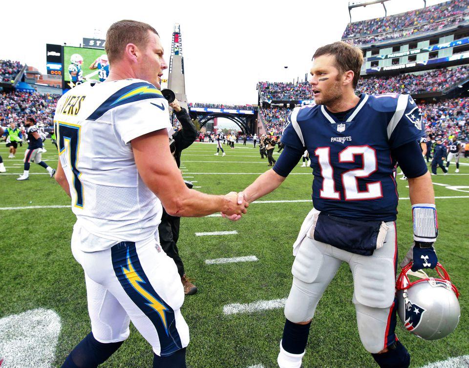 Philip Rivers and Tom Brady.