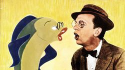 """Don Knotts, right, in """"The Incredible Mr. Limpet."""""""